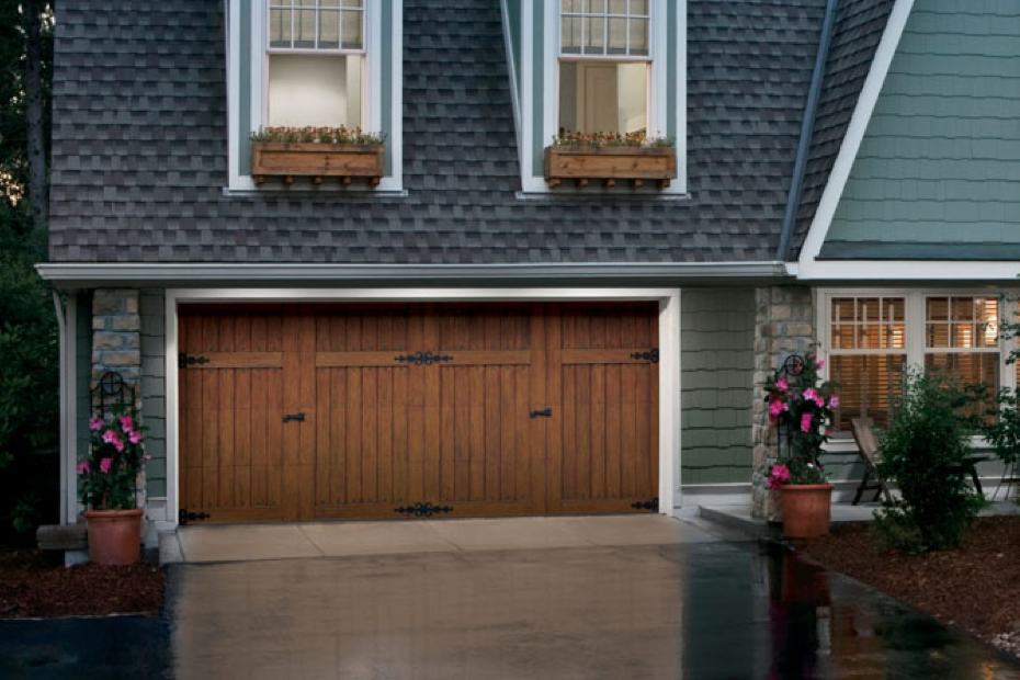 Carriage style for Carriage type garage doors